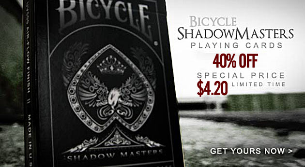 bicycle shadow masters