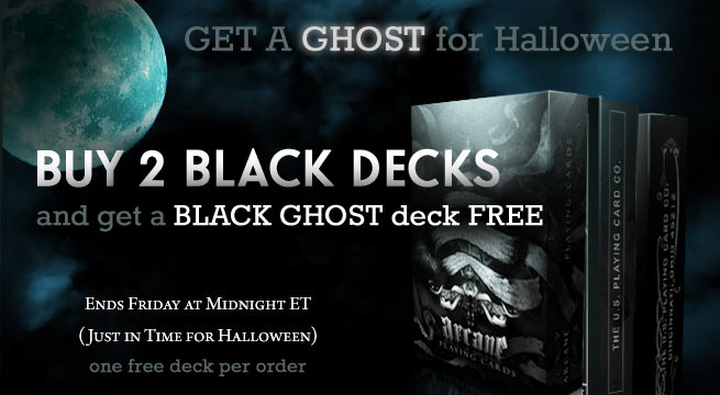 free black ghost deck